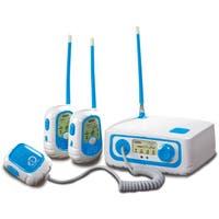 Discovery Kids Walkie Talkie Base Station Set - White