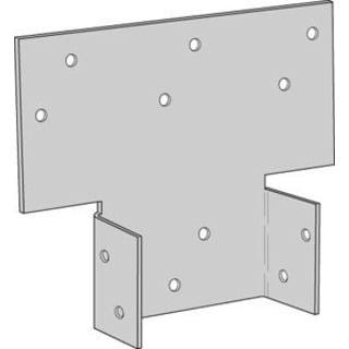 USP PBS44-TZ 4-inch x 4-inch Post Tie Plates