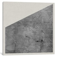 iCanvas Modern Art- Shading by 5by5collective Canvas Print