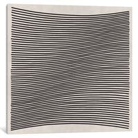 iCanvas Modern Art- Wavy Lines by 5by5collective Canvas Print