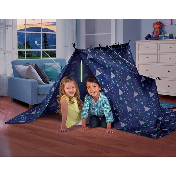 Discovery Kids Build A Fort Set  sc 1 st  Overstock.com & Discovery Kids Build A Fort Set - Free Shipping On Orders Over $45 ...
