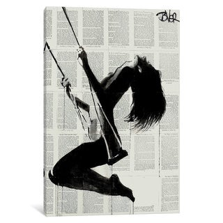 iCanvas The Lightness Of Being Again by Loui Jover Canvas Print