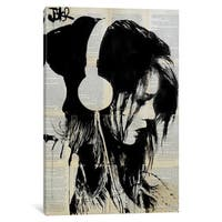 iCanvas Melodies Solace by Loui Jover Canvas Print