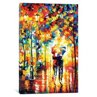 iCanvas Under One Umbrella by Leonid Afremov Canvas Print