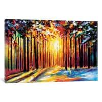 iCanvas Sun Of January by Leonid Afremov Canvas Print