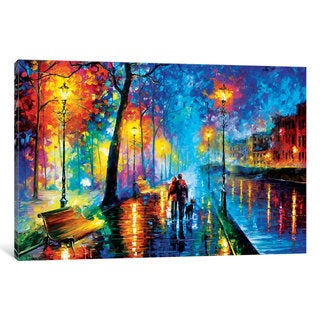 iCanvas Melody Of The Night by Leonid Afremov Canvas Print