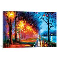 iCanvas Alley By The Lake II by Leonid Afremov Canvas Print