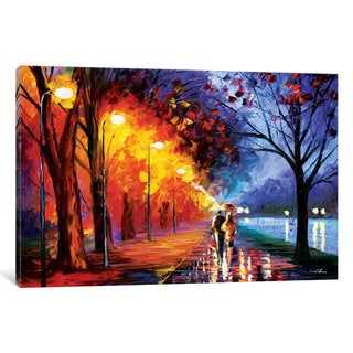 iCanvas Alley By The Lake I by Leonid Afremov Canvas Print