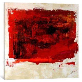 iCanvas Red Study by Julian Spencer Canvas Print
