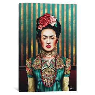 iCanvas Frida by Giulio Rossi Canvas Print