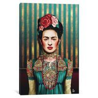 iCanvas Frida by Giulio Rossi Canvas Print