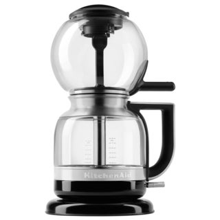 KitchenAid KCM0812OB Onyx Black Stainless Steel and Glass 8-Cup Siphon Coffee Brewer