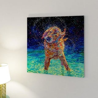 iCanvas Moonlight Swim by Iris Scott Canvas Print