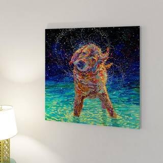 iCanvas Moonlight Swim by Iris Scott Canvas Print