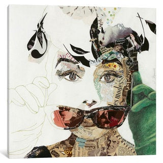 iCanvas Audrey by Ines Kouidis Canvas Print