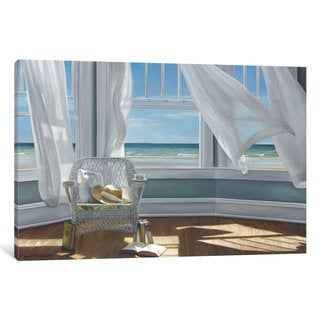 iCanvas Gentle Reader by Karen Hollingsworth Canvas Print