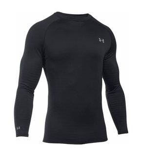Under Armour Base Men's 1281082 4.0 Black Polyester/Elastane Long-sleeved Crew Ski/Snowboard Shirt