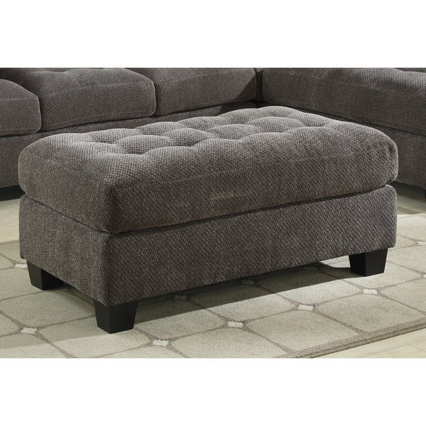 Emerald Trinton Pewter Storage Cocktail Ottoman - Free Shipping Today - Overstock.com - 19530286