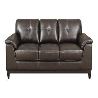 Emerald Marquis Walnut Sofa