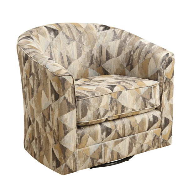 Shop Focus Jestor Antique Swivel Accent Armchair Free Shipping Today Overstock 12754057
