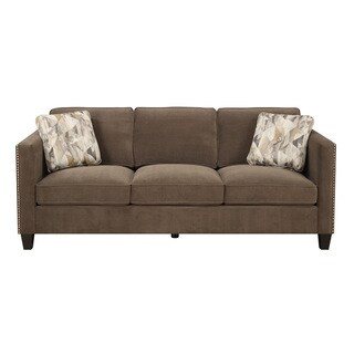 Emerald Focus Chocolate Sofa