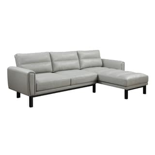 Emerald Houdini Gray Sectional Sofa