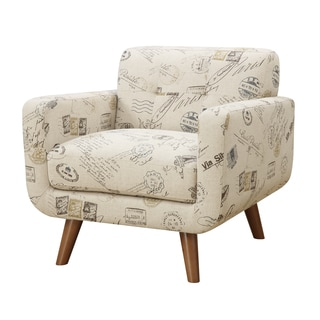 Emerald Remix Printed Accent Armchair