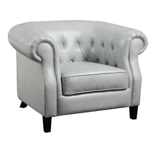 Emerald Button Tufted Accent ArmChair