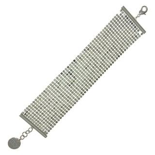 Isla Simone - Fine Silver Plated Specchio Bracelet
