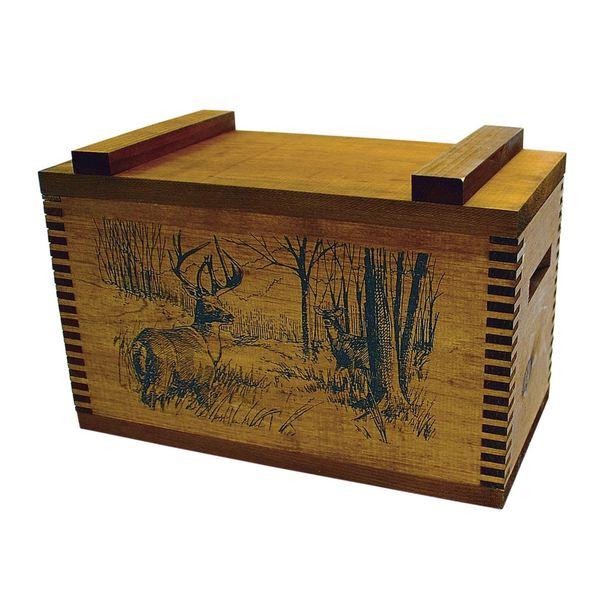 Standard Wooden Deer Print Box