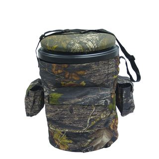 Dlx Sports Mossy Oak Breakup Fabric/Plastic Bucket