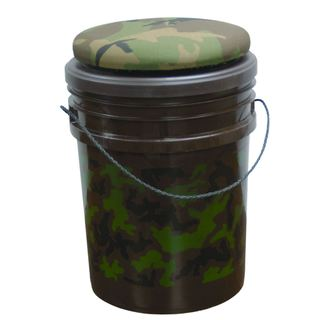 Evans Camouflage Plastic and Fabric Original Sports Bucket