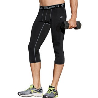 Champion Gear Men's 3/4 Compression Tights