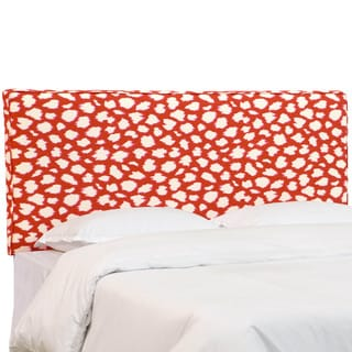 Skyline Furniture Desta Maraschino Upholstered Headboard