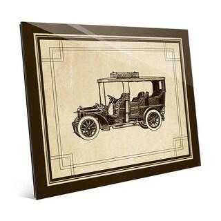 Vintage Automobile Glass Wall Art