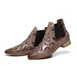 Vicenzo Leather Women's Abba Flat Heel Ankle Bootie