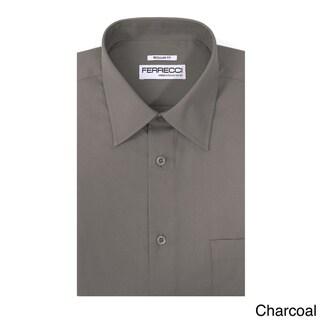 Ferrecci Men's Virgo Regular Fit Premium Dress Shirt
