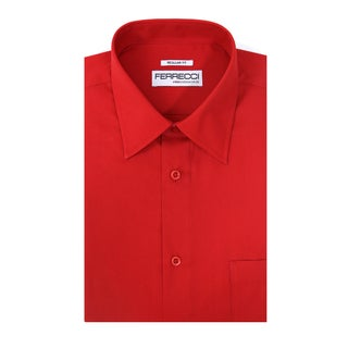 Ferrecci Men's Virgo Regular Fit Premium Dress Shirt (More options available)