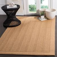 Safavieh Palm Beach Natural Fiber Maize Sisal / Jute Rug - 8' X 11'