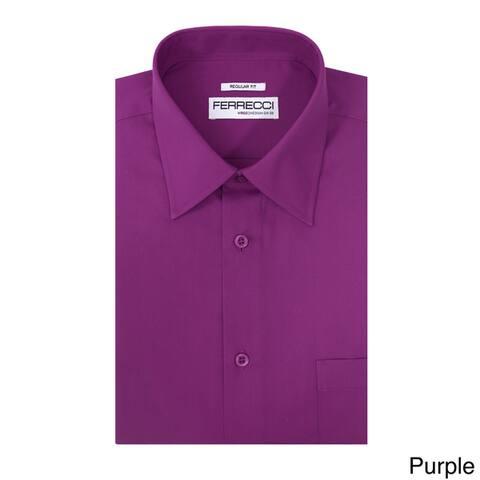 Ferrecci Men's Virgo Regular-fit Premium Dress Shirt