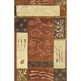 Hand-tufted Sahara Wool Rug (5' x 8')