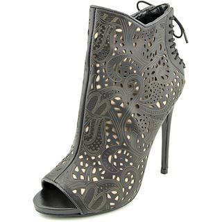 Steve Madden Women's Korsett Leather Boots