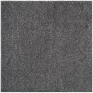 Safavieh Arizona Shag Southwestern Dark Grey Rug (7' Square)