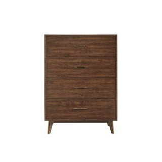 Newbury Wood 4-Drawer Chest