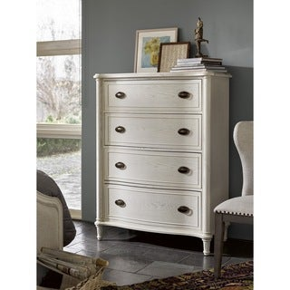 Universal Curated Amity White 4-drawer Chest