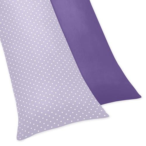 JoJo Designs Sloane Collection Body Pillow Case (Lavender...