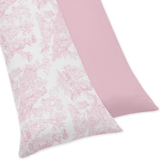 Shop Sweet Jojo Designs Pink French Toile Collection Body Pillow