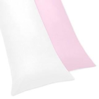 Sweet Jojo Designs Ballerina Collection Body Pillow Case