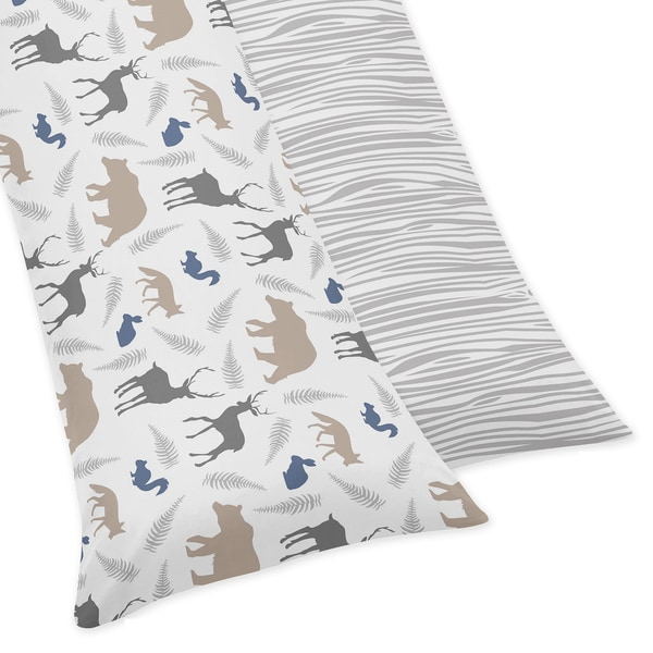 Sweet Jojo Designs for Woodland Animals Collection Body Pillow Case - Multi