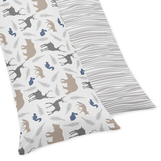 Sweet Jojo Designs for Woodland Animals Collection Body Pillow Case